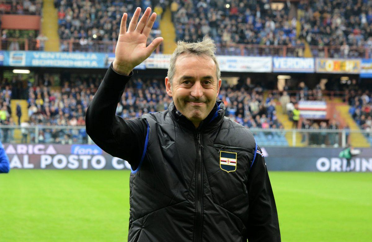 Marco Giampaolo, allenatore della Sampdoria