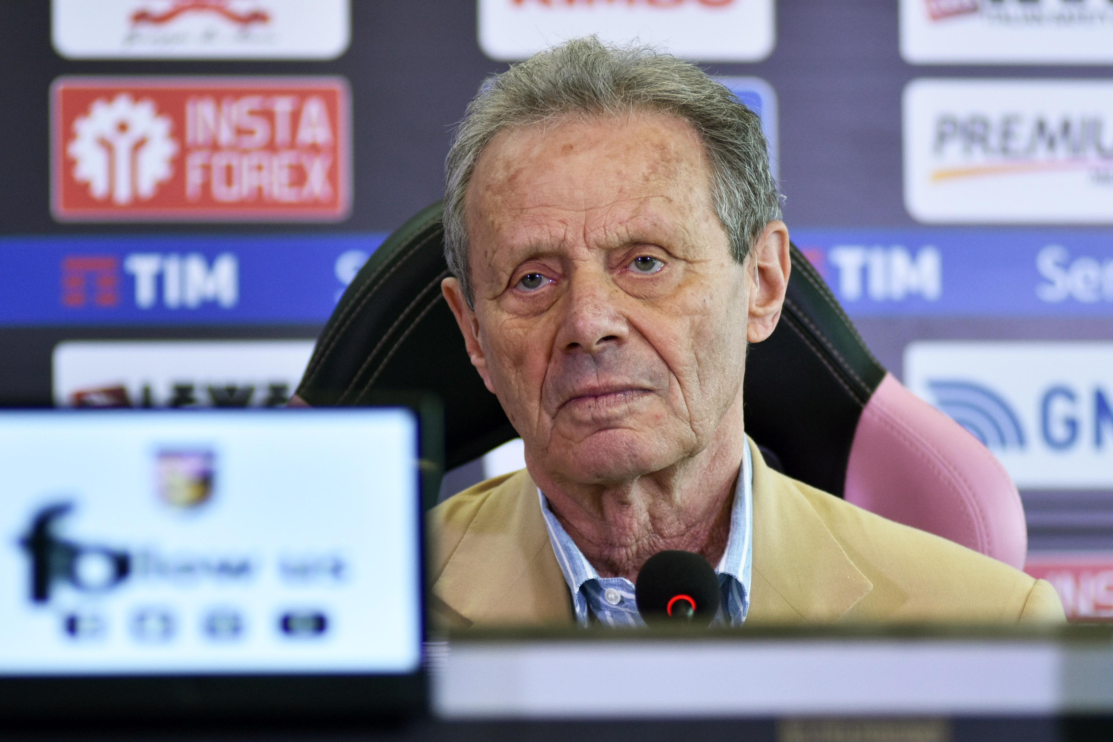 Maurizio Zamparini, ex presidente del Palermo