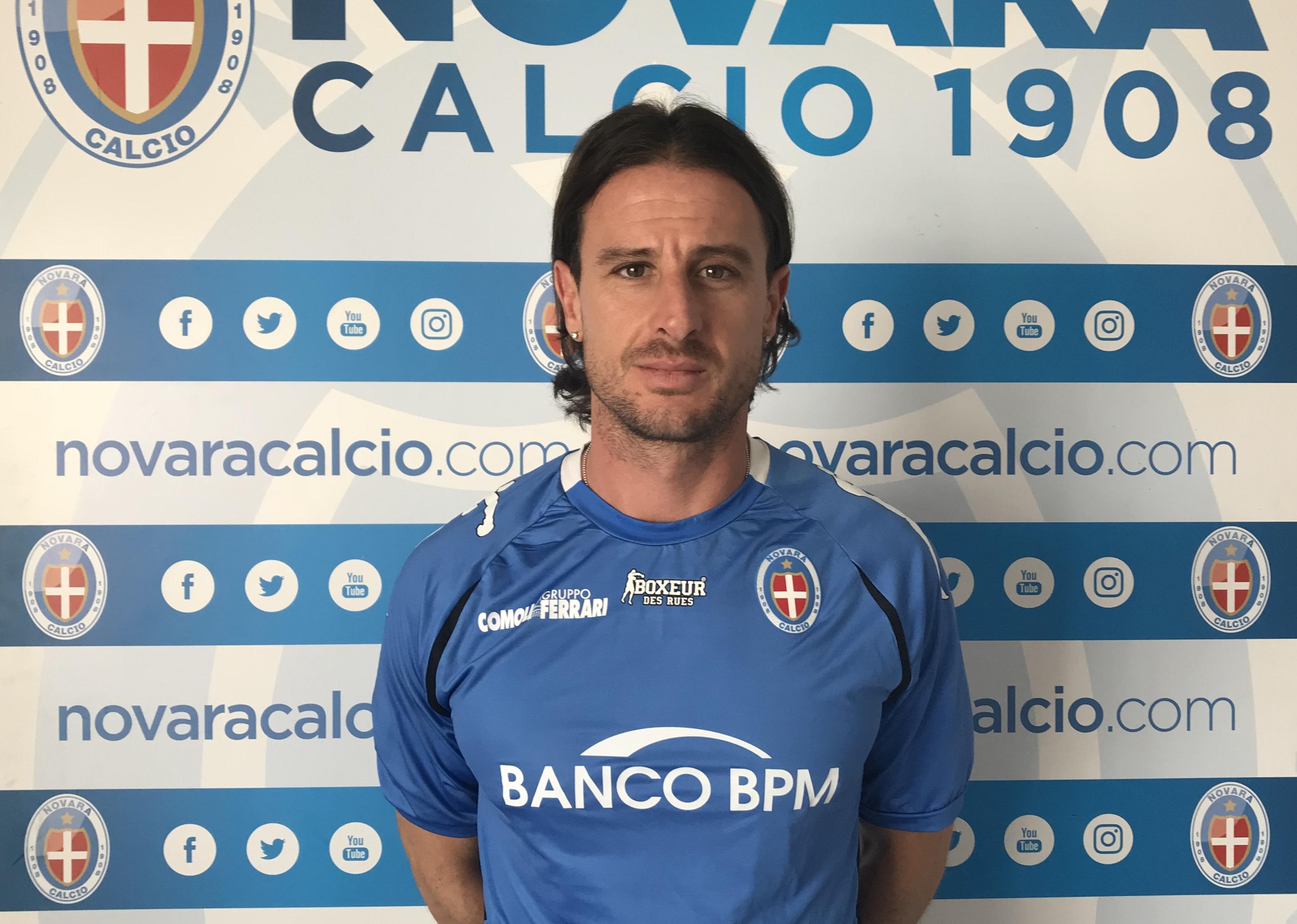 Daniele Cacia, attaccante del Piacenza