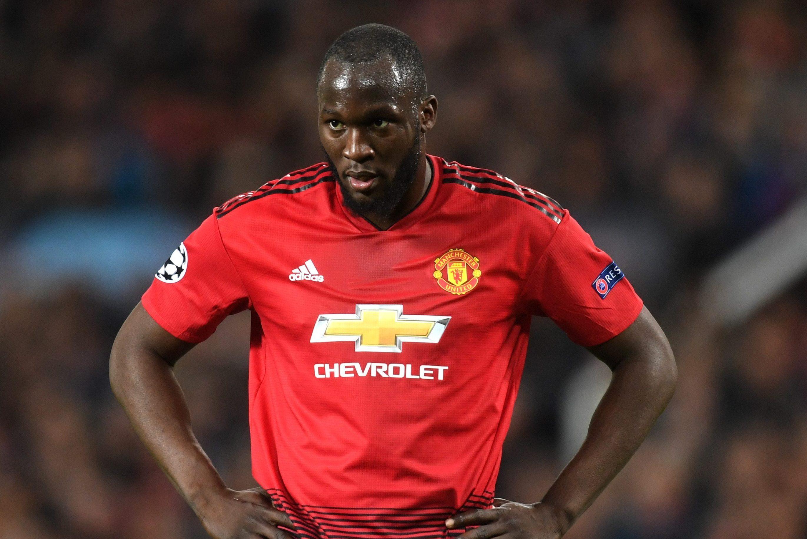 Romelu Lukaku, attaccante del Manchester United