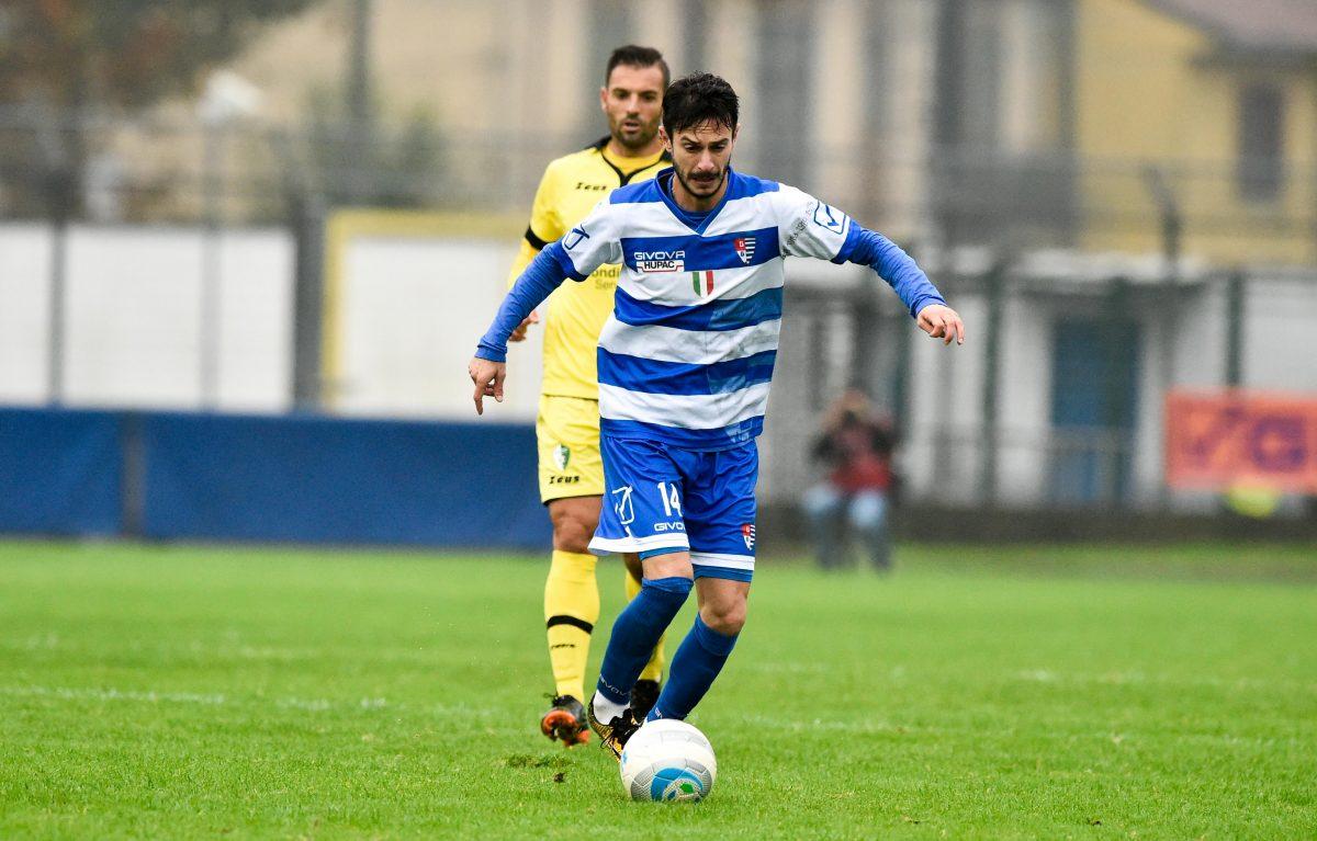 Luca Bertoni, centrocampista della Pro Patria