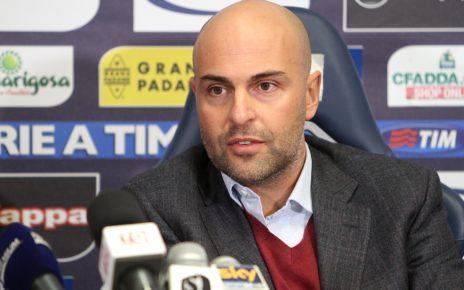 Cagliari, il presidente Tommaso Giulini