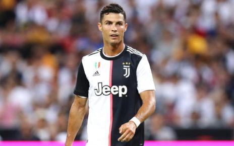 Juventus, l'attaccante Cristiano Ronaldo