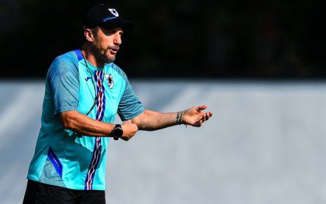 Sampdoria, l'allenatore Eusebio Di Francesco