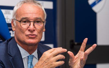 Sampdoria, l'allenatore Claudio Ranieri