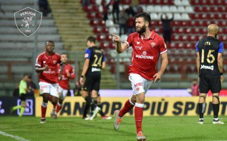 Perugia Pisa 1-0, gol di Iemmello