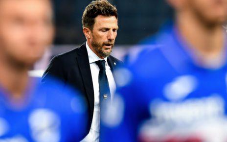 Sampdoria, l'ex allenatore Eusebio Di Francescoi