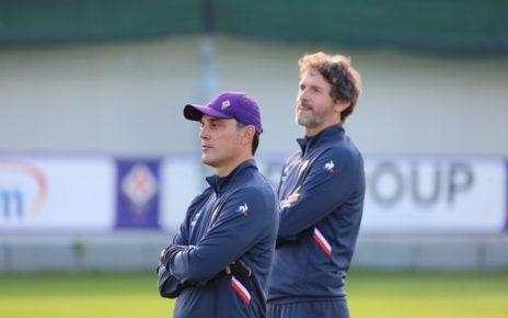 Fiorentina, l'allenatore Vincenzo Montella