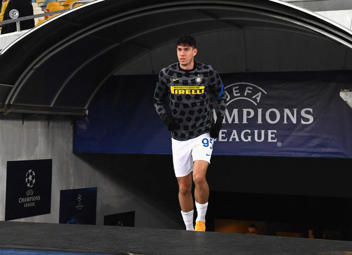 Alessandro Bastoni, difensore dell'Inter