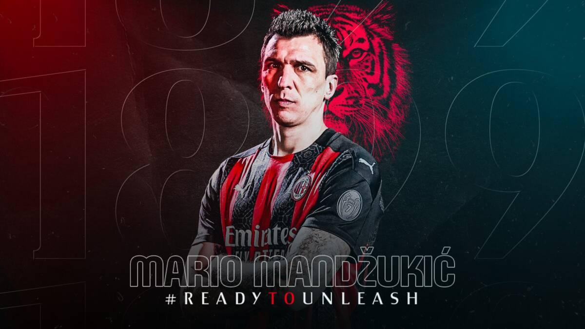 """Milan, ecco Mandzukic: """"Sono pronto a combattere"""""""