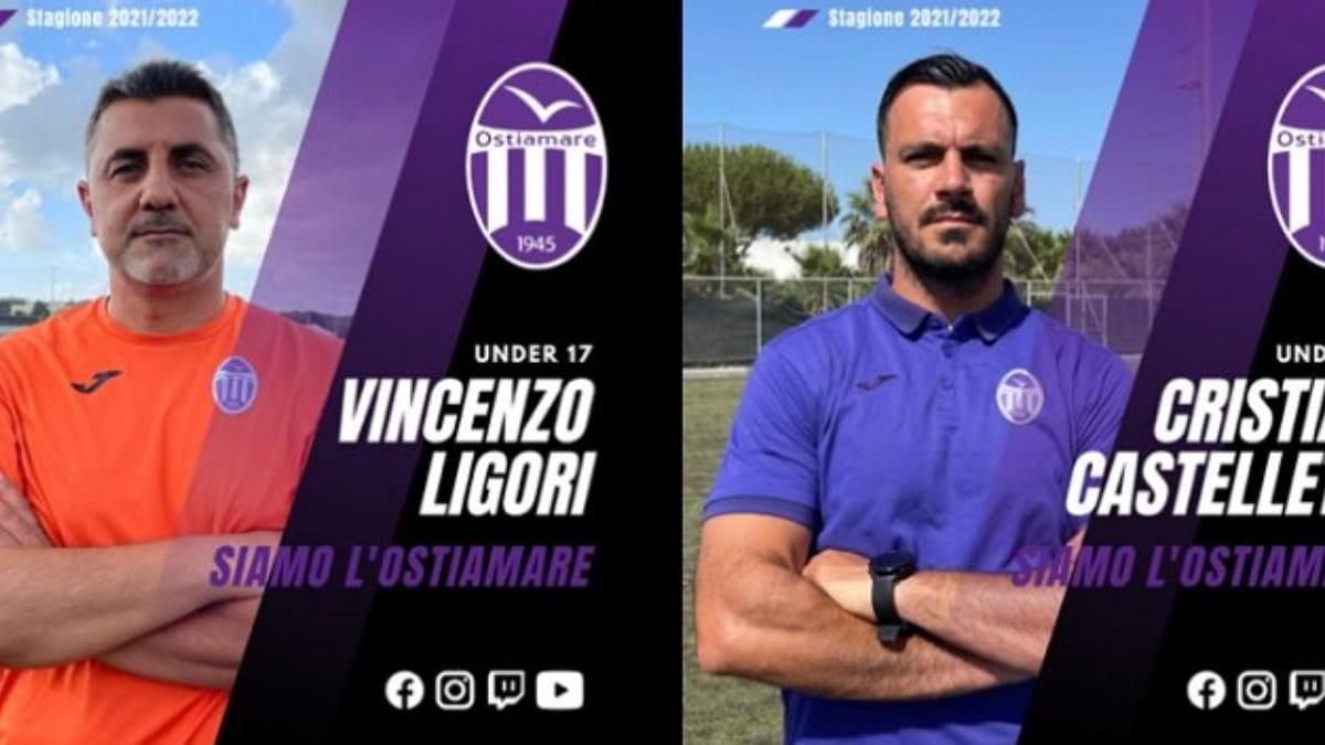 Ostiamare, il nuovo staff tecnico delle giovanili per la stagione 2021/2022