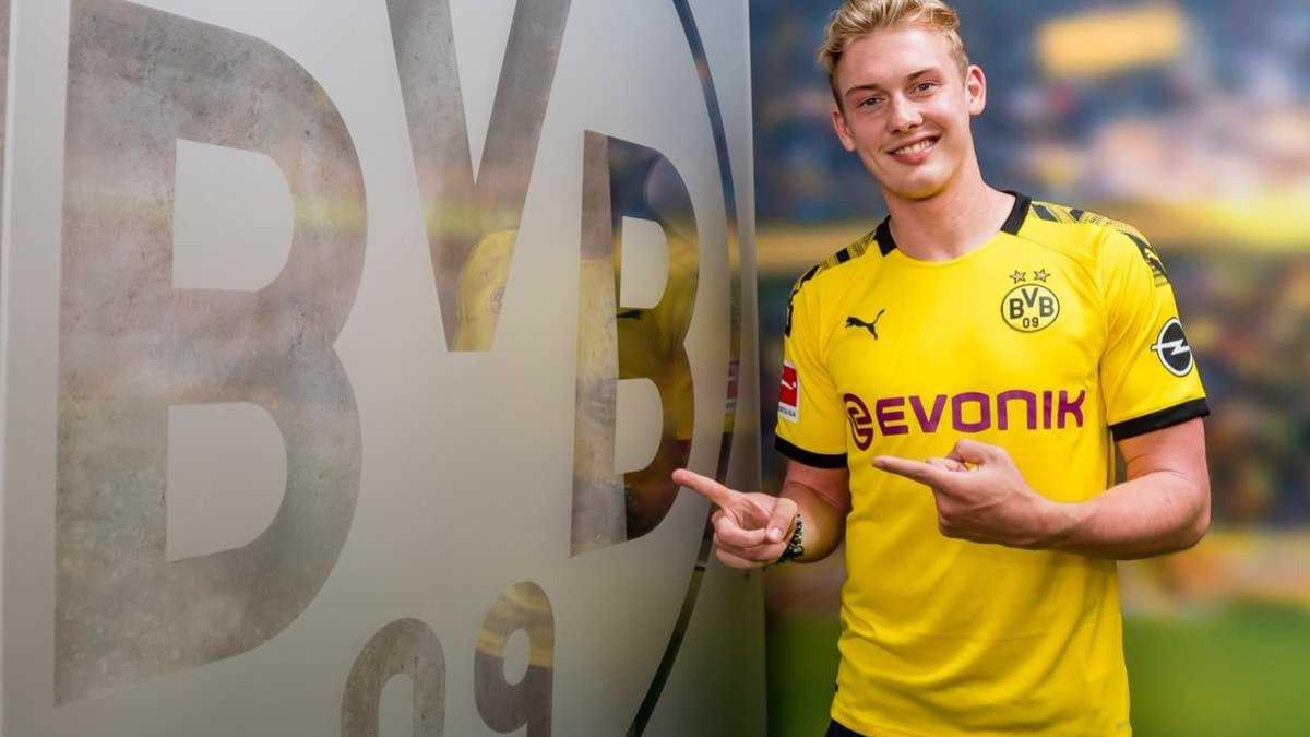 Borussia Dortmund, il giocatore Julian Brandt